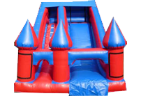 12L x 16W X 15H Blue & Red Slide