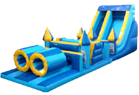 40 x 12ft Obstacle Course Minions
