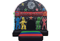 Disco Dome Black/Red